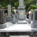 法名塔の追加作成や納骨室内の整理で、今後も安心してお参り・継承できるお墓へ。大野城市地域墓地にて